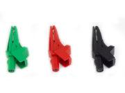 Щупы типа крокодил с проводами для измерения напряжения