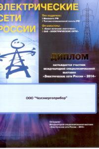 Диплом Электрические сети России 2014