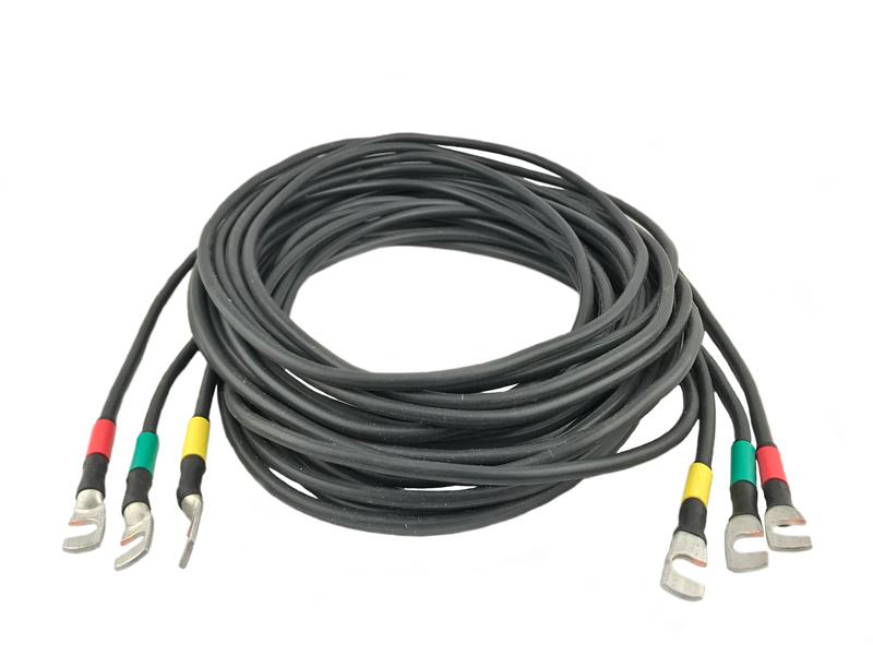 Токоведущий провод сечением 6 мм2 длиной 5 м ЛАТР-СЭИТ (опция)
